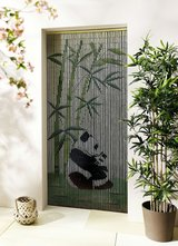Bamboo Curtain Panda with Baby Panda in Ramstein, Germany