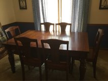 Dining table with 6 chairs in Fort Campbell, Kentucky