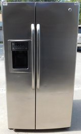 25 CU. FT. GE SIDE-BY-SIDE REFRIGERATOR in San Diego, California
