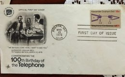 100th Birthday of the Telephone Stamp in Alamogordo, New Mexico
