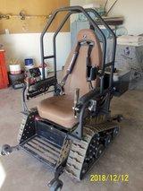 2017 Trac-Fab All Terrain Gasoline Tracked Handicapped Chair in Alamogordo, New Mexico