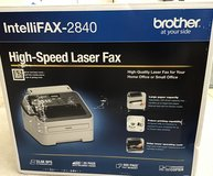 "BROTHER INTELLIFAX-2840 ""BRAND NEW"" in Algonquin, Illinois"