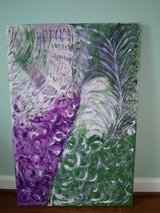 Acrylic Abstract Canvas Painting in Quantico, Virginia