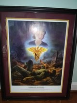 Vision of an Angel - Army Nurse Corps Poster in Frame in Quantico, Virginia