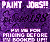 Paint jobs!! in Fort Campbell, Kentucky