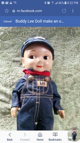 Buddy Lee doll in Tinley Park, Illinois
