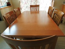 Dining table, 6 chairs, and china cabinet - part 2 in West Orange, New Jersey