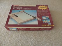 "Boston heavy duty 12"" paper trimmer in Naperville, Illinois"