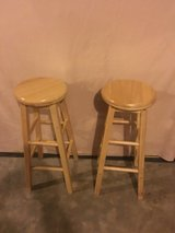set of wood swivel seats  bar stools in Fort Campbell, Kentucky