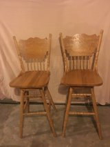set of 2 high back bar stools in Fort Campbell, Kentucky
