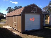PREOWNED 12x32 Lofted Garage Shed Storage Building in Moody AFB, Georgia
