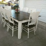 Table with 8 Chairs in Fort Campbell, Kentucky