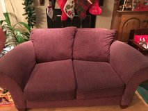 Sturdy maroon love seat for seat in Lawton, Oklahoma