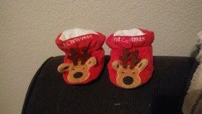 baby's first Christmas booties in Alamogordo, New Mexico