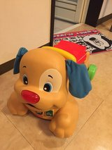Riding dog toy in Okinawa, Japan