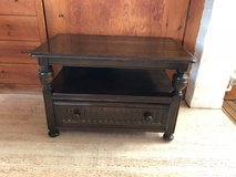 Antique Ercol TV Table with Corner Section (Elm Wood) in Lakenheath, UK