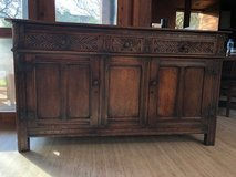Rare Antique 17th Century Jacobean Sideboard in Lakenheath, UK