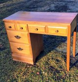 vintage solid maple desk in Cherry Point, North Carolina
