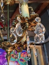 "antique crystal chandelier 13"" diameter in Cherry Point, North Carolina"