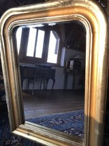 Antique beveled gold leafed mirror Schloss Eggendorf Tyrol, Austria. in Ramstein, Germany