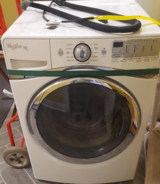 Whirlpool Duet 4.5-cu ft High-Efficiency Stackable Front-Load Washer in Warner Robins, Georgia
