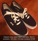 Classic Navy Vans NWT in Dothan, Alabama