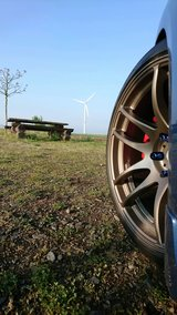 "19"" Bronze Vordoven Wheel and Tire Set in Spangdahlem, Germany"
