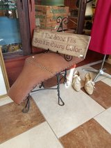 Antique Shoe Salesman Bench in Fort Leonard Wood, Missouri