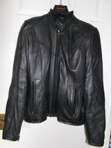 Ladies SPIDI Motorcycle Jacket Size 14 Black Leather Armour 48 NWOT in Lakenheath, UK