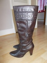Ladies boots size 7 by Dorothy Perkins Leather Brown in Lakenheath, UK