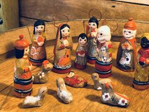 Vintage Mexican Folk Art Nativity in bookoo, US