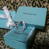 Tiffany & Co. Silver Heart Key Ring in Chicago, Illinois