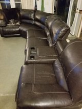 4 Pc Leather Sectional w/Recliners and more in Camp Lejeune, North Carolina