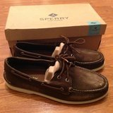 Men's Sperry Top-Sider BRAND NEW shoes A/O 2-eye boat shoes 12M 12 Medium in Camp Lejeune, North Carolina