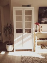 Display Cabinet / Bookcase White *Like New in Spring, Texas