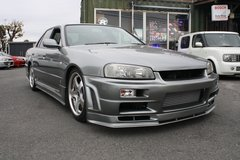2001 NISSAN SKYLINE HR-34 (Modified) - Including LTO inspection & shipping in Okinawa, Japan