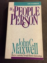 Be a People Person by John C. Maxwell in Westmont, Illinois