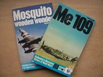 BOOKS: (1) Me 109 and (1) Mosquito (Wooden Wonder) in Ramstein, Germany