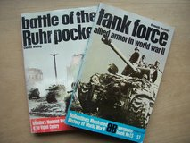 BOOKS:  (1) Battle of the Ruhr Pocket (1) Tank Force—allied armor in WWII in Ramstein, Germany