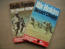 BOOKS:  (1) Beda Fomm (the classic victory) and (1) Bir Hakin (Desert Citadel) in Ramstein, Germany