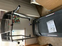 On Sale today pick up for 180.00 Pro-form treadmill in Cherry Point, North Carolina