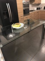 6 seater glass table in Lakenheath, UK