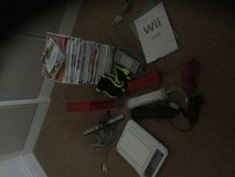 Wii games console package with 21 games in Lakenheath, UK