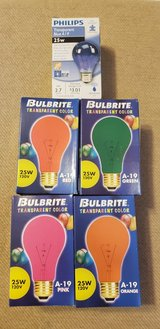 Colored Light Bulbs in Naperville, Illinois