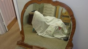 Mirror from 1930s vanity in Spring, Texas