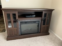 TV Stand With Electric Fireplace in Nellis AFB, Nevada