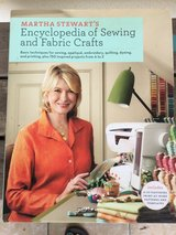 Martha Stewart's Encyclopedia of sewing and fabric crafts in Okinawa, Japan