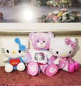 Build a bear and 2 Hello Kitty Plushes in Westmont, Illinois