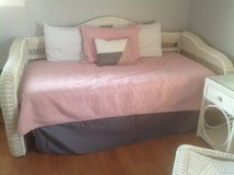 White wicker day bed in St. Charles, Illinois