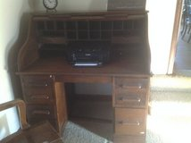Vintage Rolltop Desk in Oswego, Illinois